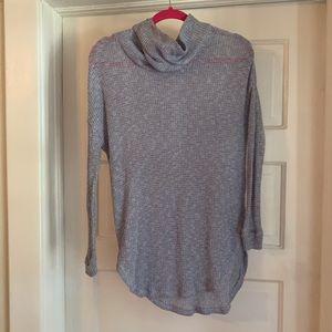 Cowl Neck Thin Sweater